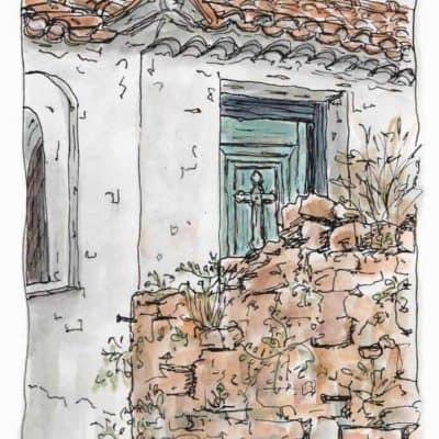 chapel door print gill tomlinson