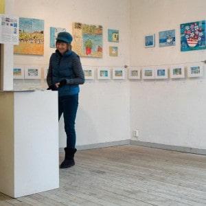 ystad, exhibition, art, greece, gilltomlinson, easter