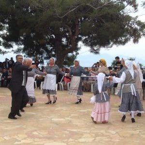 greek, dancing, vassilitsi, village