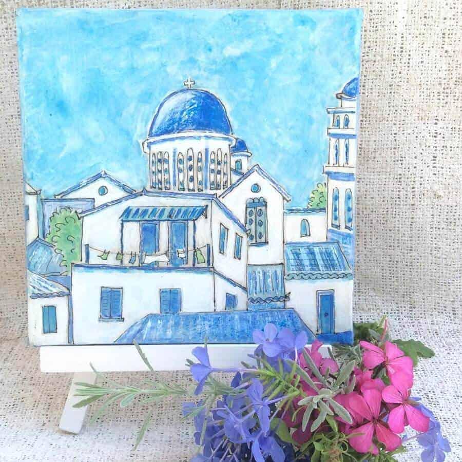 Koroni, church, free, draw, prize, original