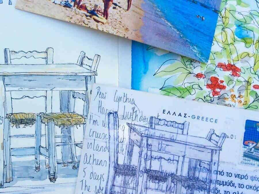 100 Postcards from Greece