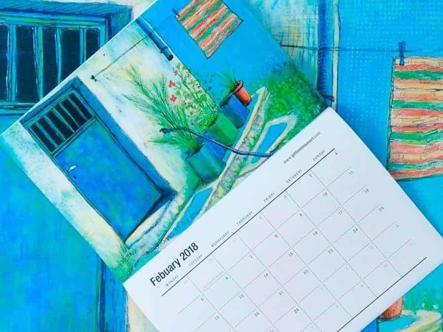 Now mailing! The 2018 Calendar!