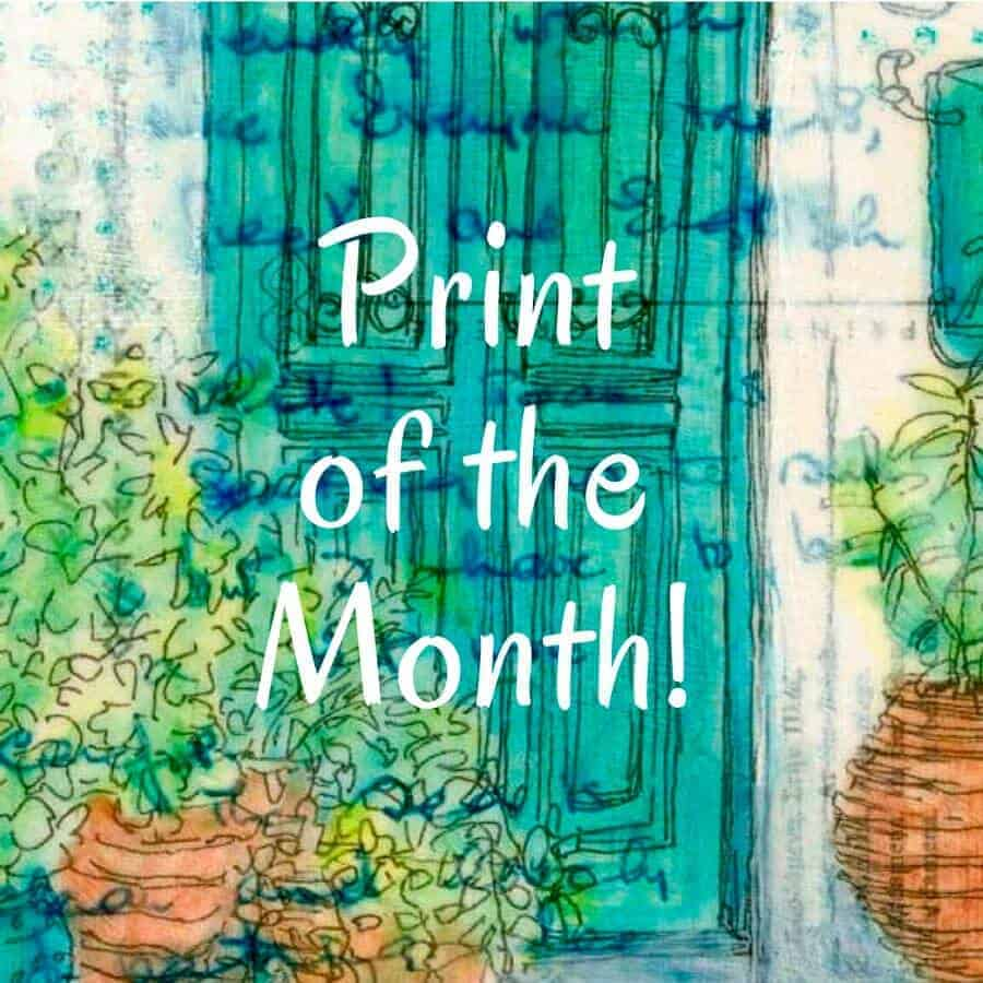 pots at the door print of the month greek paintings