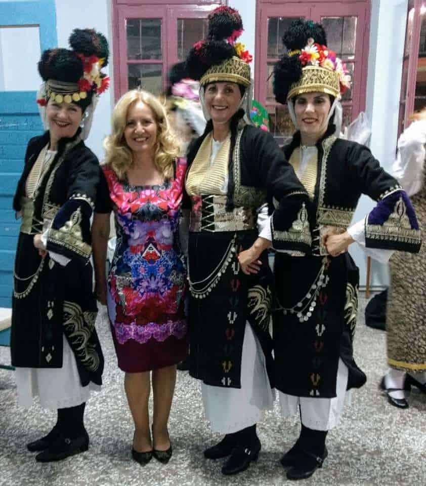 traditional greek dancing costumes