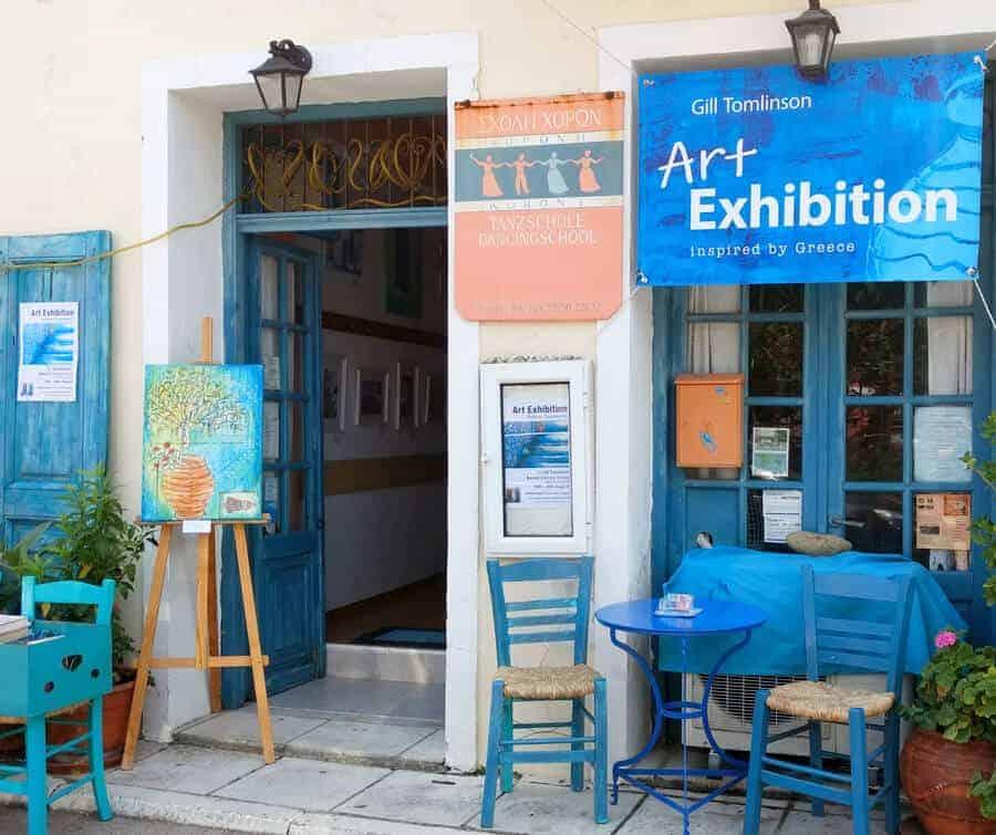 koroni art exhibition venue gill tomlinson art