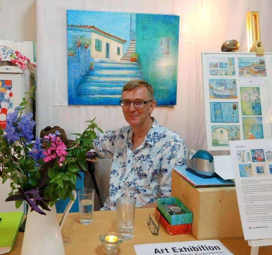 summer art exhibition in koroni